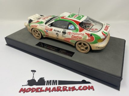 TOPMARQUES – TOYOTA – CELICA GT4 TURBO 4WD ST185 (night version) TEAM CASTROL N 3 WINNER RALLY MONTECARLO 1993 D.AURIOL – B.OCCELLI – DIRTY VERSION