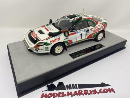 TOPMARQUES – TOYOTA – CELICA 4WD (ST185) CASTROL N 1 WINNER RALLY SAFARI 1993 JUHA KANKKUNEN