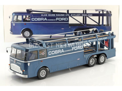 NOREV – FIAT – BARTOLETTI 306/2 3-ASSI TRUCK TEAM ALAN MANN RACING LTD FORD USA SHELBY COBRA CAR TRANSPORTER 1965
