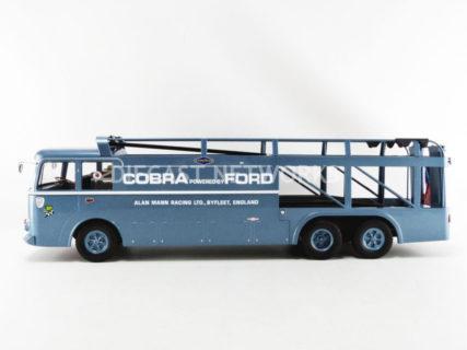 NOREV – FIAT – BARTOLETTI 306/2 3-ASSI TRUCK TEAM ALAN MANN RACING LTD FORD USA SHELBY COBRA CAR TRANSPORTER 1964