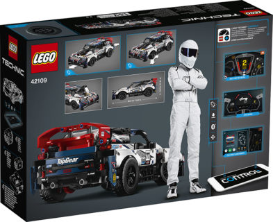 LEGO 42109 Technic – Auto da rally Top Gear telecomandata