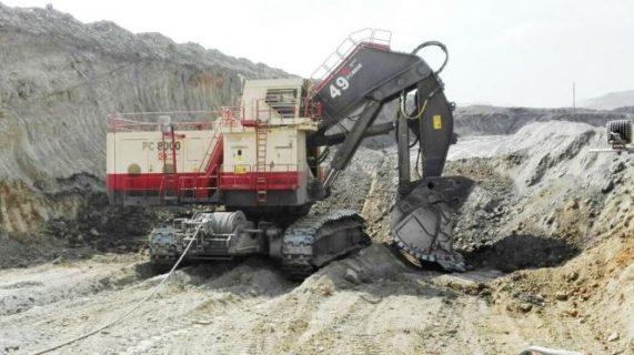"""KOMATSU Excavator PC8000-6 Electric Shovel """"Drummond"""" * PREORDINE MAIL * DISPONIBILE MAGGIO 2020 * 90 PEZZI"""