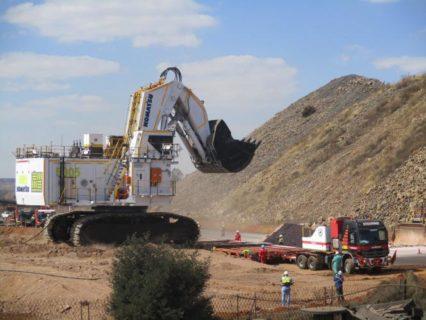 """KOMATSU Excavator PC8000-6 Elektric with Shovel """"South 32"""" * PREORDINE MAIL * DISPONIBILE MAGGIO 2020 * 90 PEZZI"""