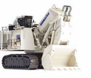 *PREORDER ONLY* KOMATSU Excavator PC8000-11 Diesel Shovel, white *DISPONIBILE SETTEMBRE 2020*