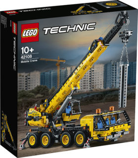 LEGO 42108 Technic – Gru mobile