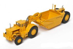 CAT Scraper 666 with closed cab -CCM- Classic Construnction Model –