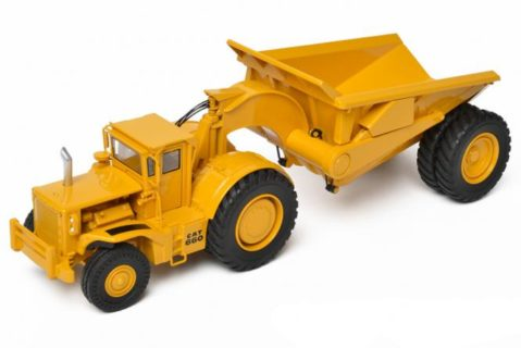 CAT Rear Dump Scraper PR660 – CCM – CLASSIC CONSTRUNCTION MODEL – 1/48