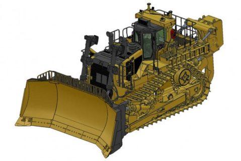 CAT Dozer D11T 1/24 with Single-Shank Ripper – CCM – *PREORDINE*