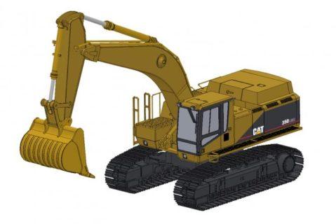 CAT Excavator 350LME with Rock Bucket – CCM – *PREORDINE*