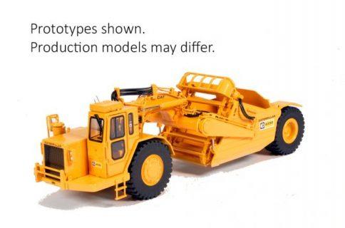 CAT Elevator-Scraper 633D  – CCM – CLASSIC CONSTRUCTION MODELS- 1/48