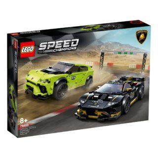 LEGO 76899 Speed Champions – Lamborghini Urus ST-X & Lamborghini Huracán Super Trofeo EVO