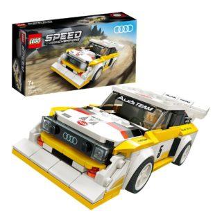 LEGO 76897 Speed Champions – 1985 Audi Sport quattro S1