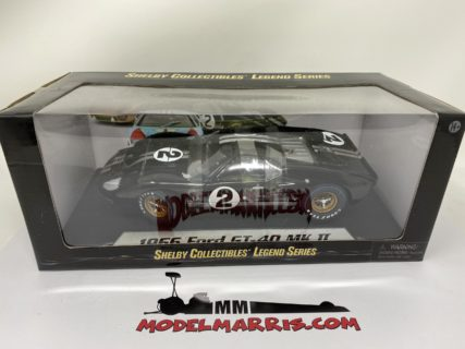 SHELBY-COLLECTIBLES – FORD USA – GT40 MKII 7.0L V8 TEAM SHELBY AMERICAN INC. N 2 WINNER 24h LE MANS 1966 B.McLAREN – C.AMON