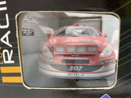 PEUGEOT 307 N.5 4th MONTE CARLO 2004 M.GRONHOLM-T.RAUTIAINEN neve snow FINISH LINE