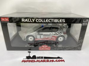 SUN-STAR – PEUGEOT – 206 WRC N 1 RALLY OF GREAT BRITAIN 2002 R.BURNS – R.REID