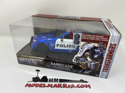 JADA – FORD USA – MUSTANG GT COUPE POLICE 2016 – BARRICADE TRANSFORMERS V L'ULTIMO CAVALIERE – MOVIE 2017