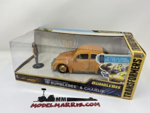 JADA – VOLKSWAGEN – BEETLE WITH CHARLIE FIGURE 1969 – BUMBLEBEE TRANSFORMERS – MOVIE 2018