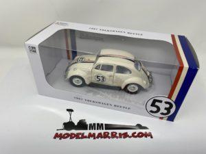 "VW BEETLE 1967 N.53 ""HERBIE"" 1:24 maggiolino tutto matto"