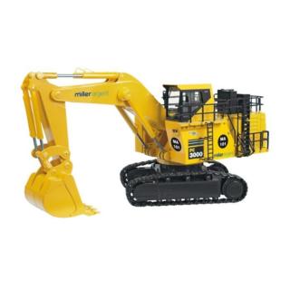 "KOMATSU Excavator PC3000-6 Back ""Miller Argent"""