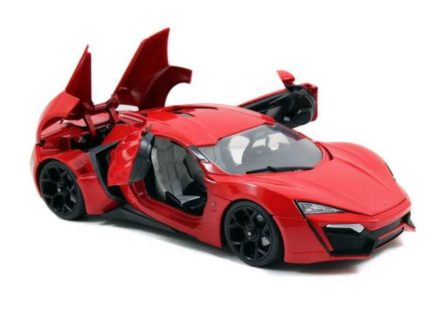 *PREORDER* 2014 Lykan Hypersport *Fast and Furious 7* Including Lights & Dom Figure