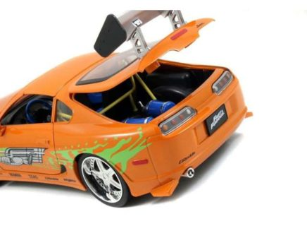 *PTREORDER* 1995 Toyota Supra *Fast and Furious* with lights & Brian Figure