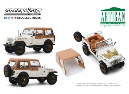 *PREORDER* 1979 Jeep CJ-7 *Dixie* Dukes of Hazzard Look-a-like