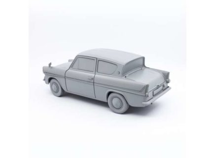 *PREORDER* HARRY POTTER – 1966 Ford Anglia, light blue with white roof 1/18