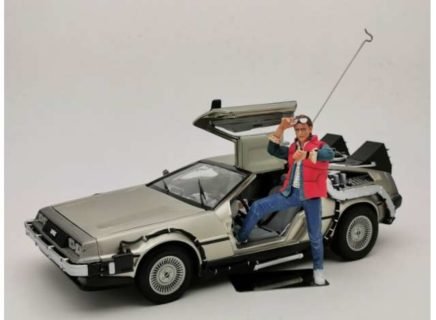 *PREORDER* 1983 Delorean *Back to the Future I* Including McFly Figure.