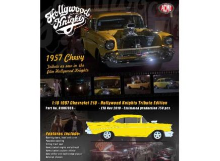 *PREORDER* 1957 Chevrolet 210 *Hollywood Knights* Tribute Edition