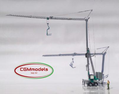 CATTANEO CM221 Gru automontante – 1/50 – CGM models -MADE IN ITALY- (trattore non incluso)