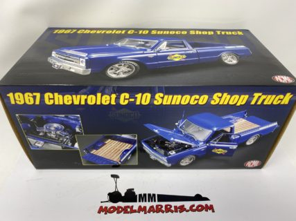 ACME-MODELS – CHEVROLET – C-10 PICK-UP SHOP TRUCK SUNOCO CUSTOM 1967