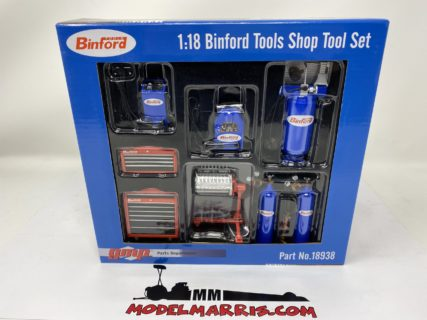 GMP – ACCESSORIES – SET OFFICINA GARAGE TOOL SET BINFORD