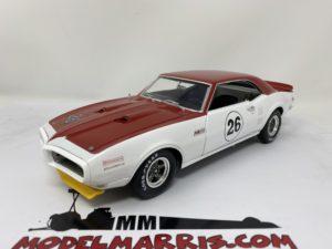 ACME-MODELS – PONTIAC – TRANS AM RACING N 26 FIREBIRD TRIBUTE 1968 J.TITUS