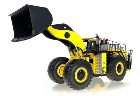 P&H Whelel Loader L-1850 with big bucket WEISS BROTHER 1/50