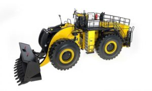 P&H Whelel Loader L-1850 with SMALL bucket WEISS BROTHER 1/50