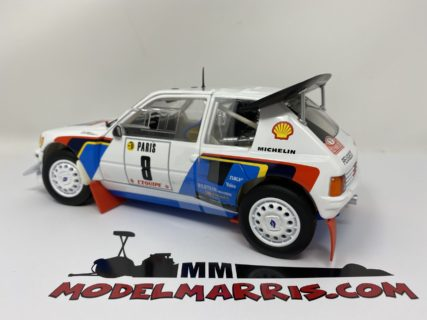 NOREV – PEUGEOT – 205 T16 N 8 5th RALLY MONTECARLO 1985 B.SABY – J.F.FAUCHILLE