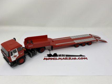 IXO-MODELS – DAF 2800 TRUCK RIMORCHIO PIANALE – MAMMOET –  1978