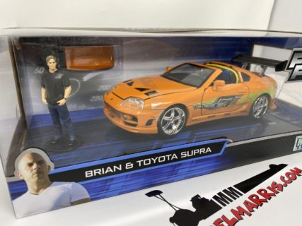 JADA – TOYOTA – SUPRA MKIV WITH PAUL WALKER – BRIAN O'CONNER FIGURE 1995 – FAST & FURIOUS I (2001)