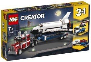 LEGO 31091 LEGO Creator – Trasportatore di shuttle