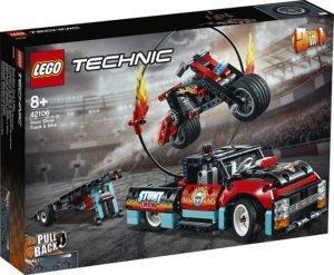 LEGO 42106 Technic – Truck e moto dello Stunt Show