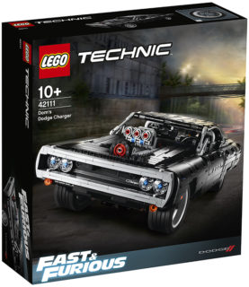 *IN ARRIVO* LEGO 42111 Technic – Dom's Dodge Charger *FAST & FURIOUS*