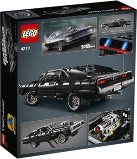 LEGO 42111 Technic – Dom's Dodge Charger *FAST & FURIOUS*