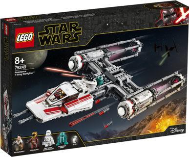 LEGO 75249 Star Wars – Y-Wing Starfighter della Resistenza