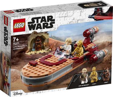 LEGO 75271 Star Wars – Landspeeder di Luke Skywalker