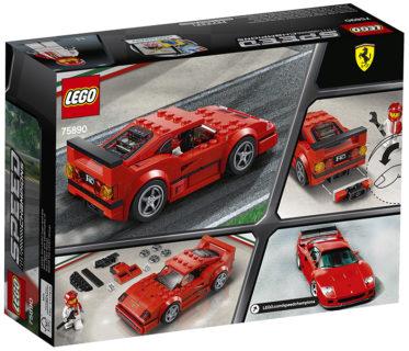 LEGO 75890 Speed Champions – Ferrari F40 Competizione