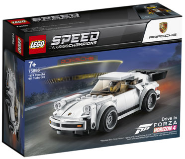 LEGO 75895 Speed Champions – 1974 Porsche 911 Turbo 3.0
