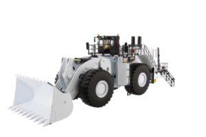 85533 Cat 994K Wheel Loader w/ Coal Bucket white 1/50 Diecast Masters
