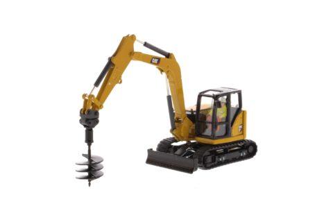85596 Cat 308 CR Mini Hydraulic Excavtor – Next Generation 1/50 Diecast Masters
