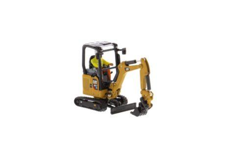 85597 Cat 301.7 CR Mini Hydraulic Excavtor – Next Gen. 1/50 Diecast Masters