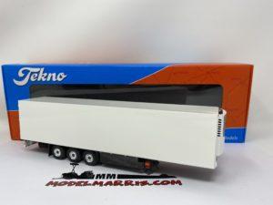 Semirimorchio frigorifero Schmitz Rimorchio trasporto merci 1:50 ! Tekno 70277